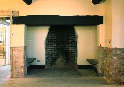 Alcott Hall fireplace