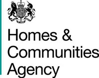Homes and Communities Agency HCA logo