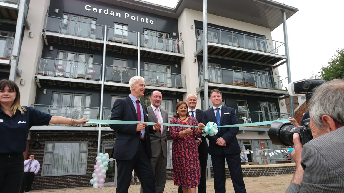 Walsall Cardan Pointe completion event 09/09/2016